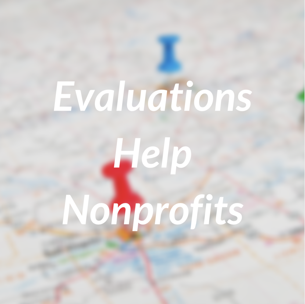 Evaluations Help Nonprofits