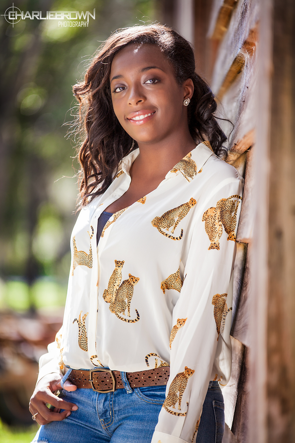 Senior Session Barn House Citrus County