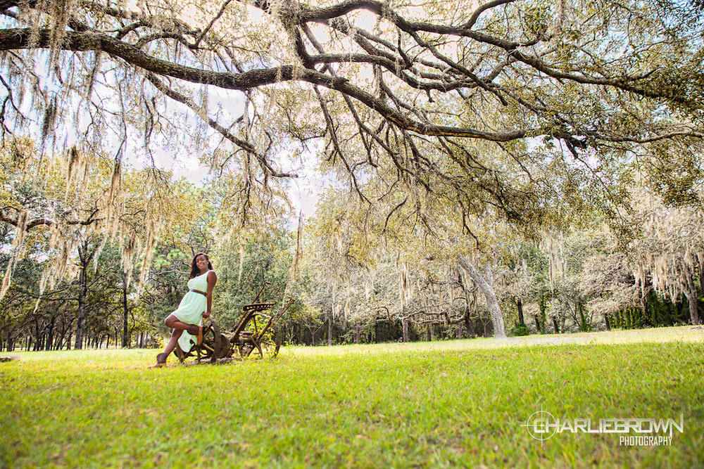 Outdoor Senior Portraits Citrus County,FL
