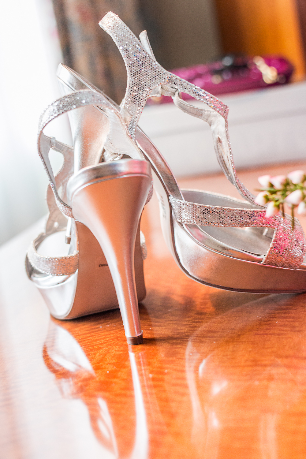 Wedding Shoe Photography