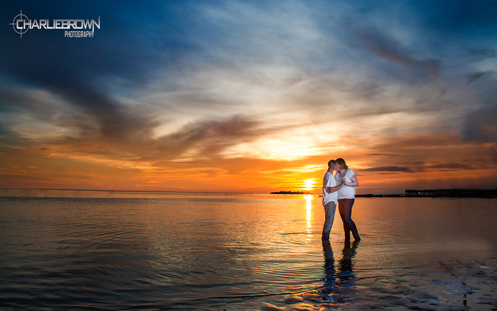 Crystal River Engagement Session on Beach