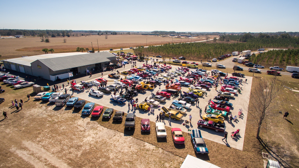 Burnyzz Car Show Aerial Drone Photography Coverage By Charlie Brown Photography