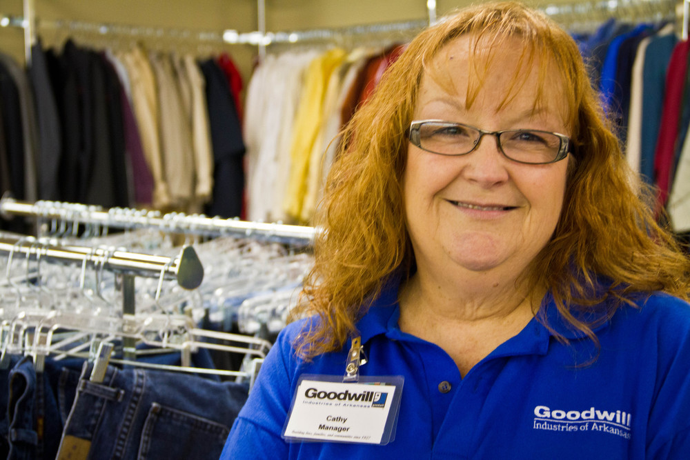 "Internationally, 4.2 million people have been served through Goodwill's employment and training programs. ""Our motto is donate, shop and change a life,"" Magner said. ""We stand firmly on that."""