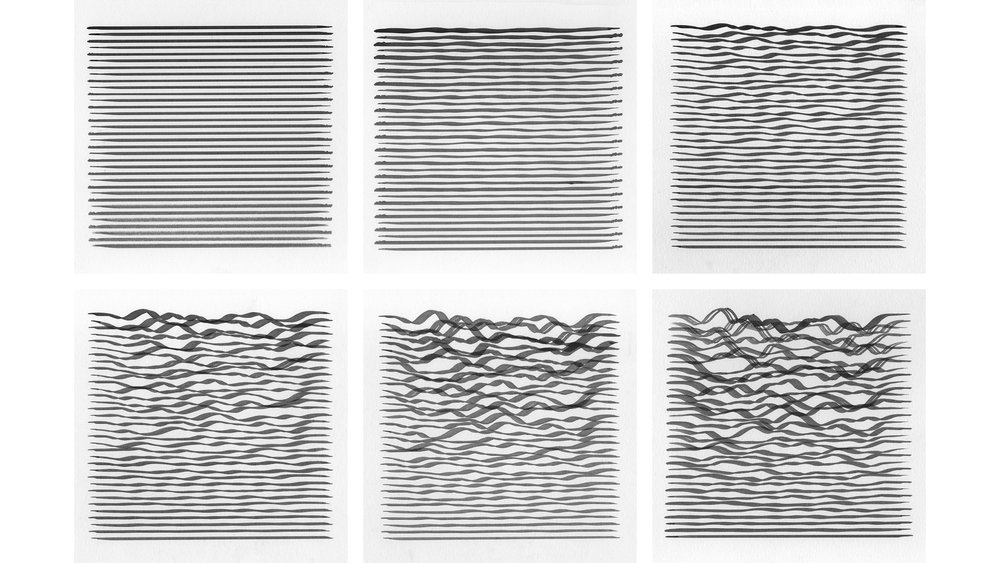 Waves , Seed 28, Increments 0 to 100