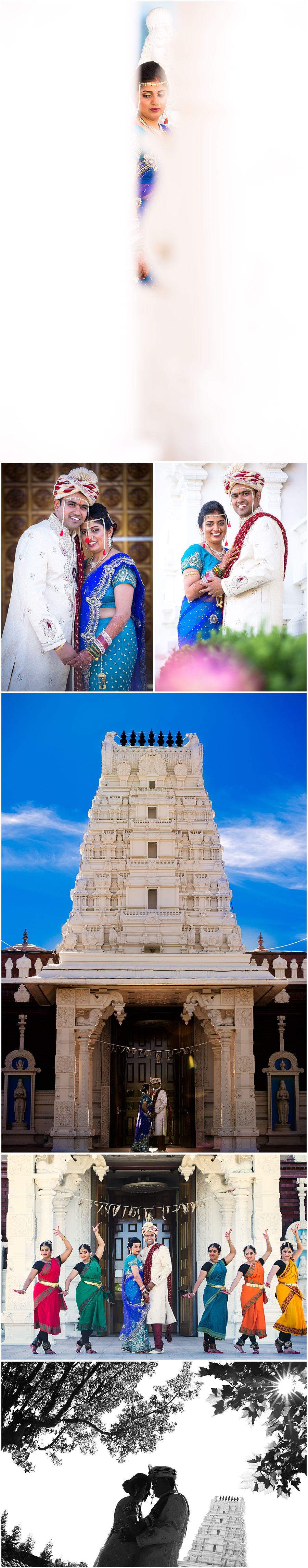 Indian Marathi wedding Livermore temple