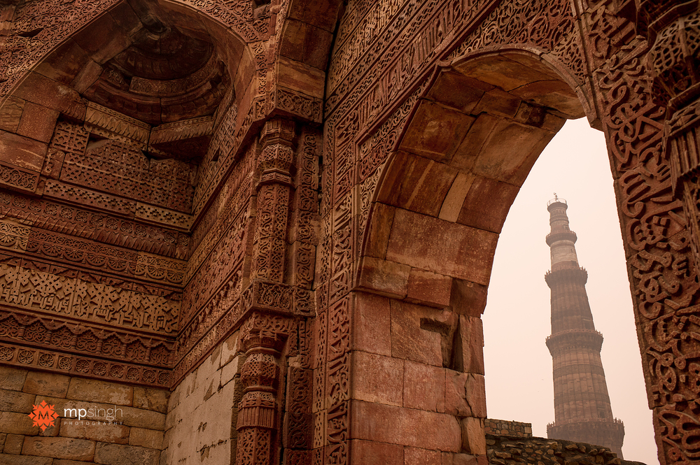 Qutub Minar MP Singh Photography