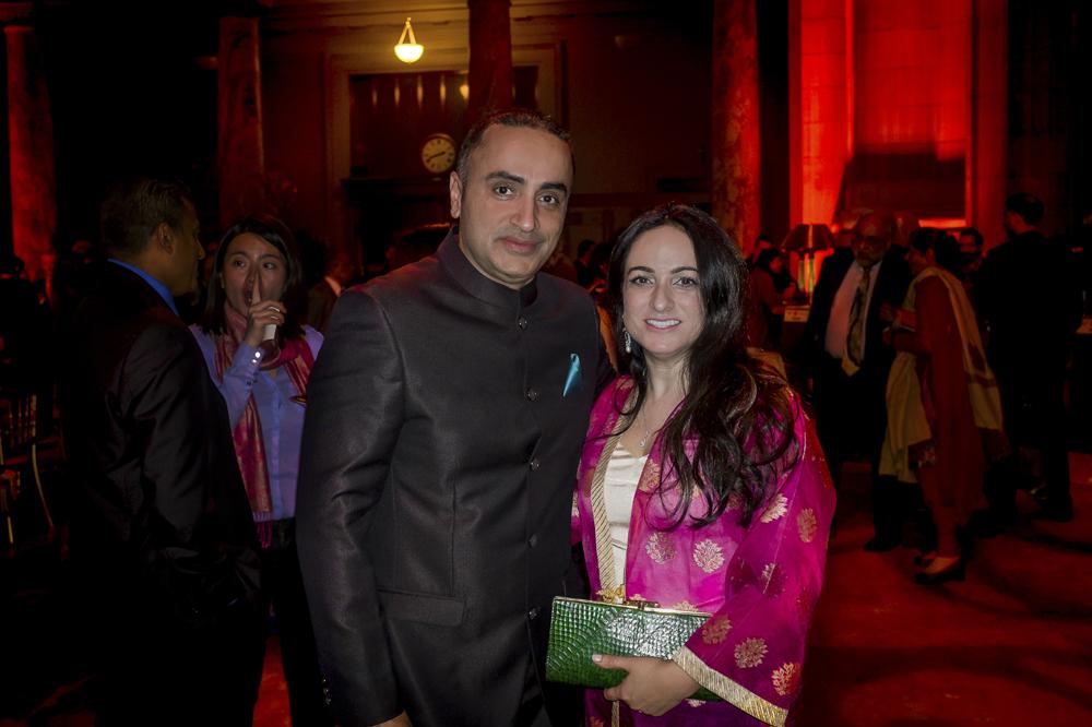 with my friend Simi Singh Juneja.