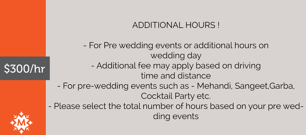 Wedding Rehearsal Fee