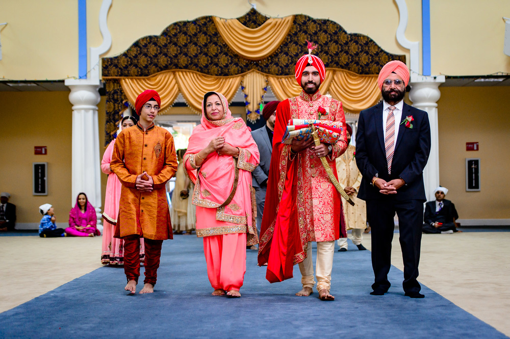 Indian Sikh wedding San jose Gurudwara