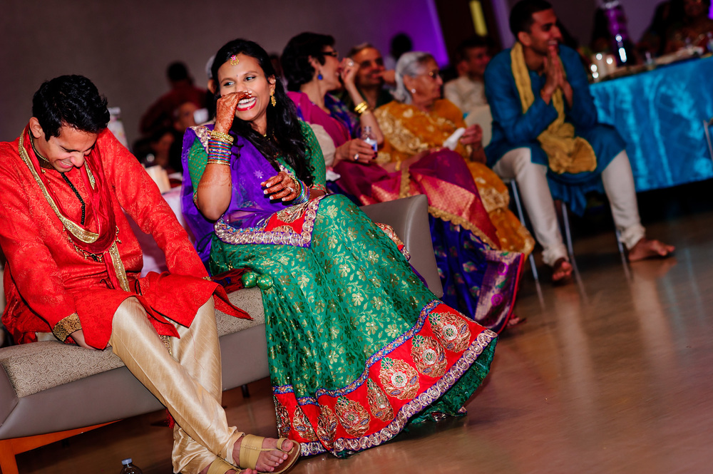 Indian Hindu wedding Sangeet San Ramon community center