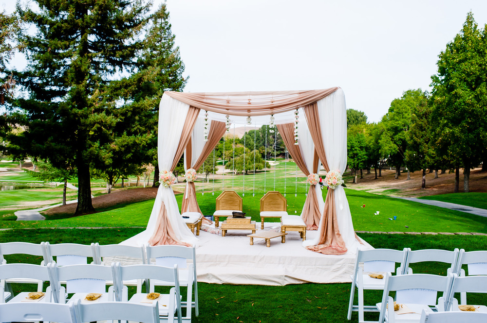 Indian Wedding Crow Canyon Golf Country Club Danville