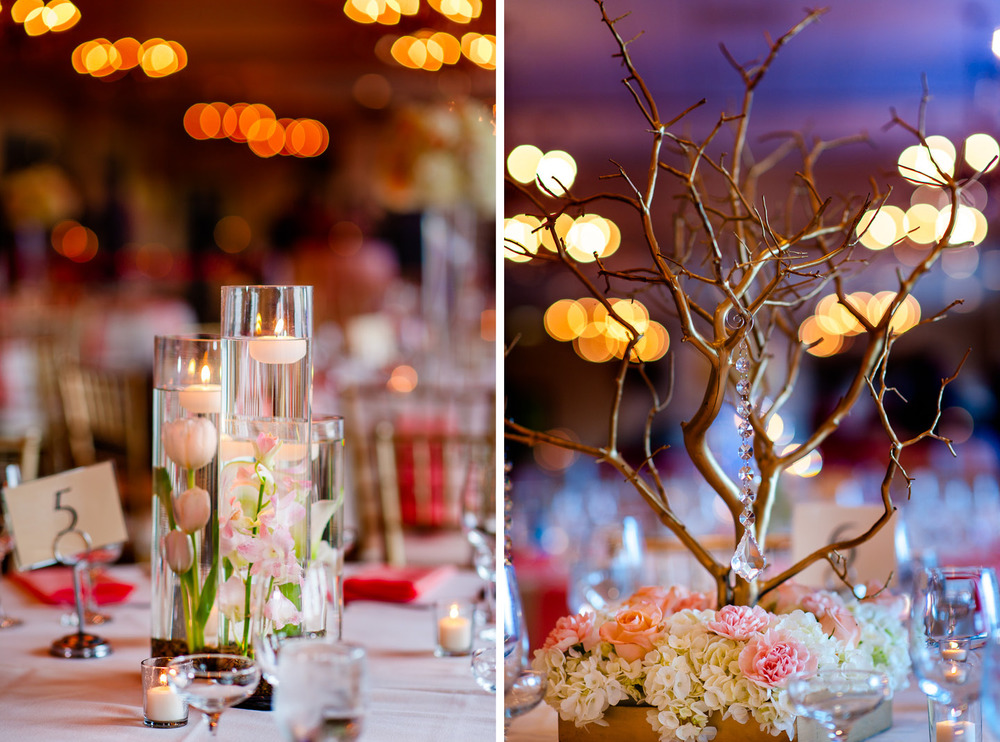 Wedding reception decor Wed by Mitra