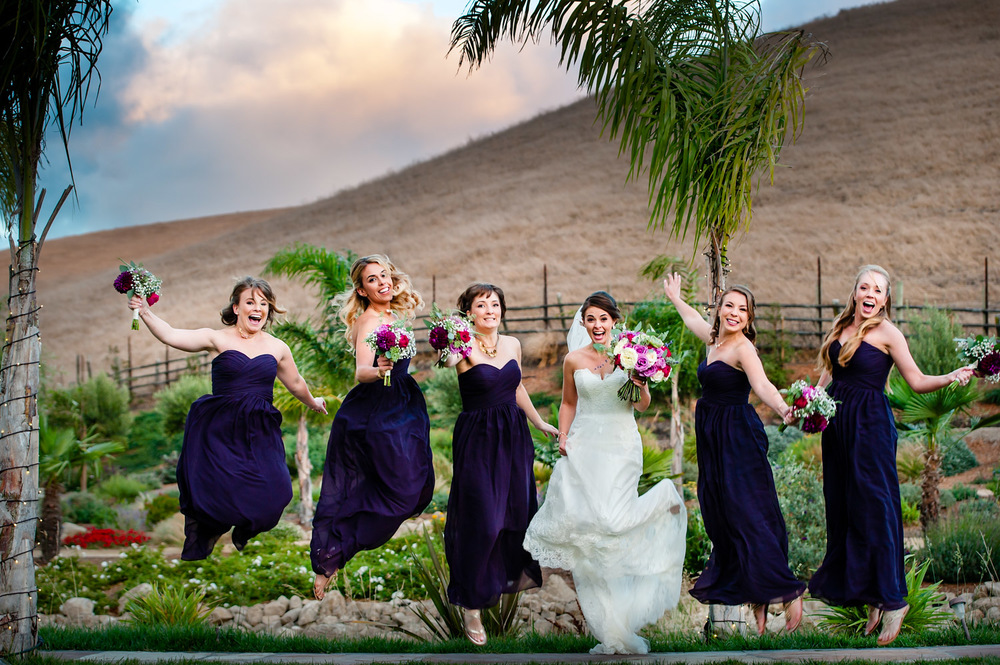 Fun Bridal party picture