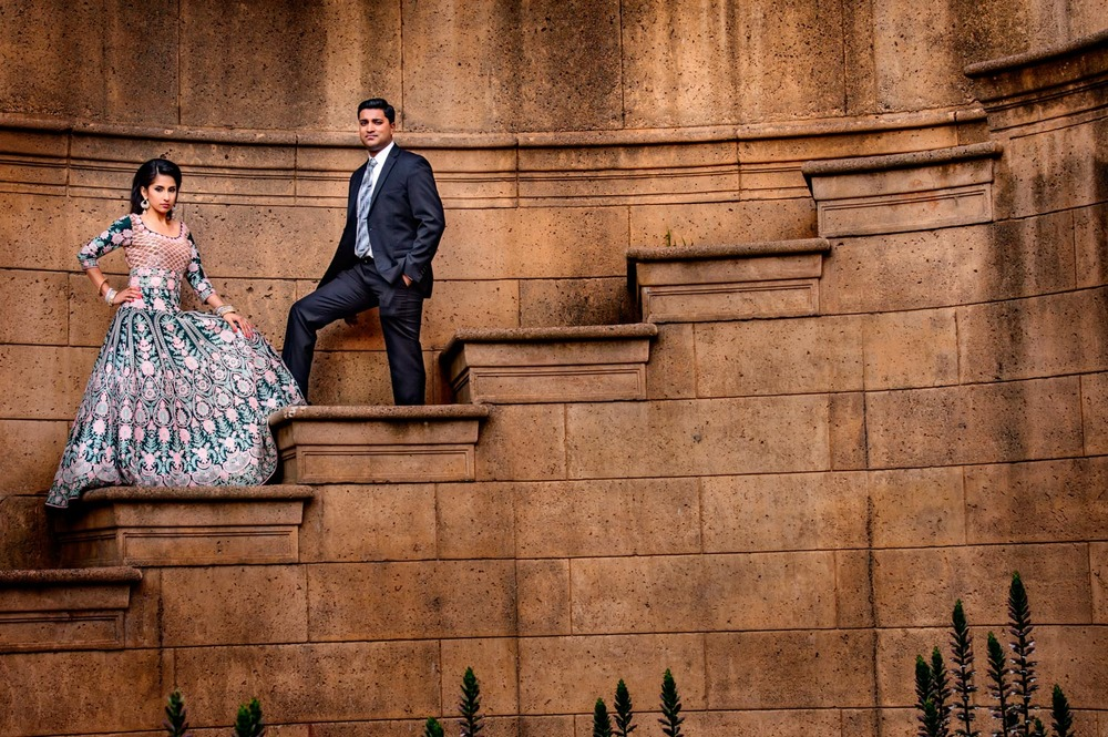 Palace of Fine Arts San Francisco Indian Engagement shoot