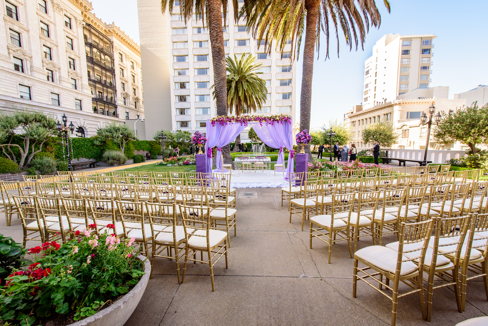 Wedding decor Fairmont San Francisco
