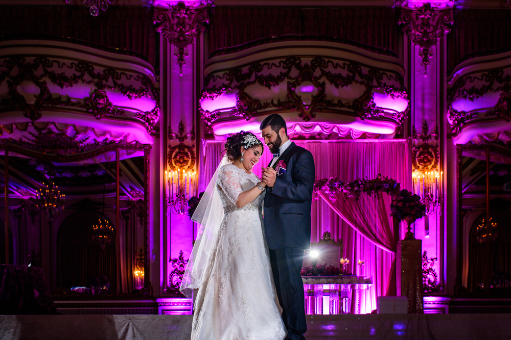 Fairmont San Francisco Ballroom wedding