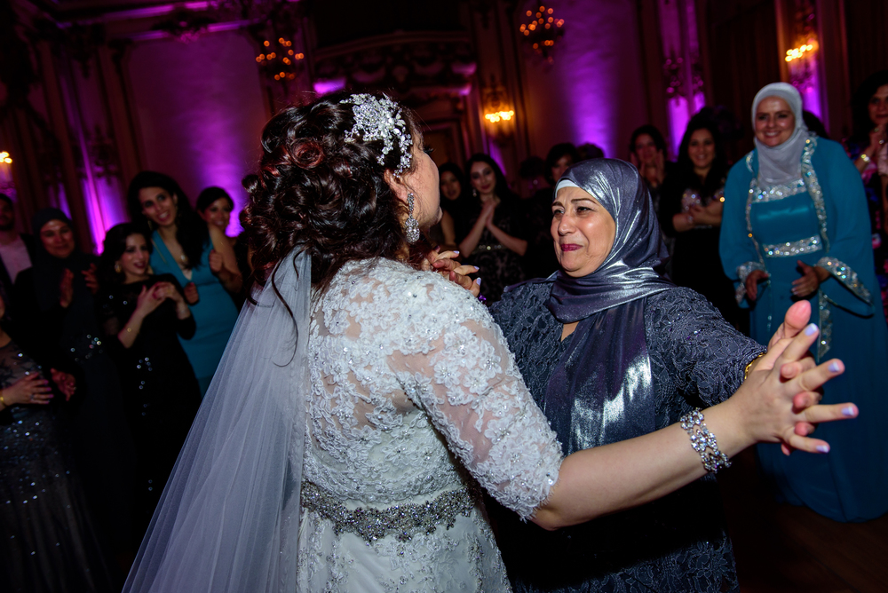 Fairmont San Francisco arabic wedding