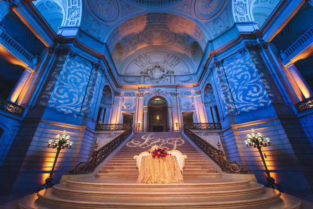 Indian Hindu wedding at San Francisco City Hall