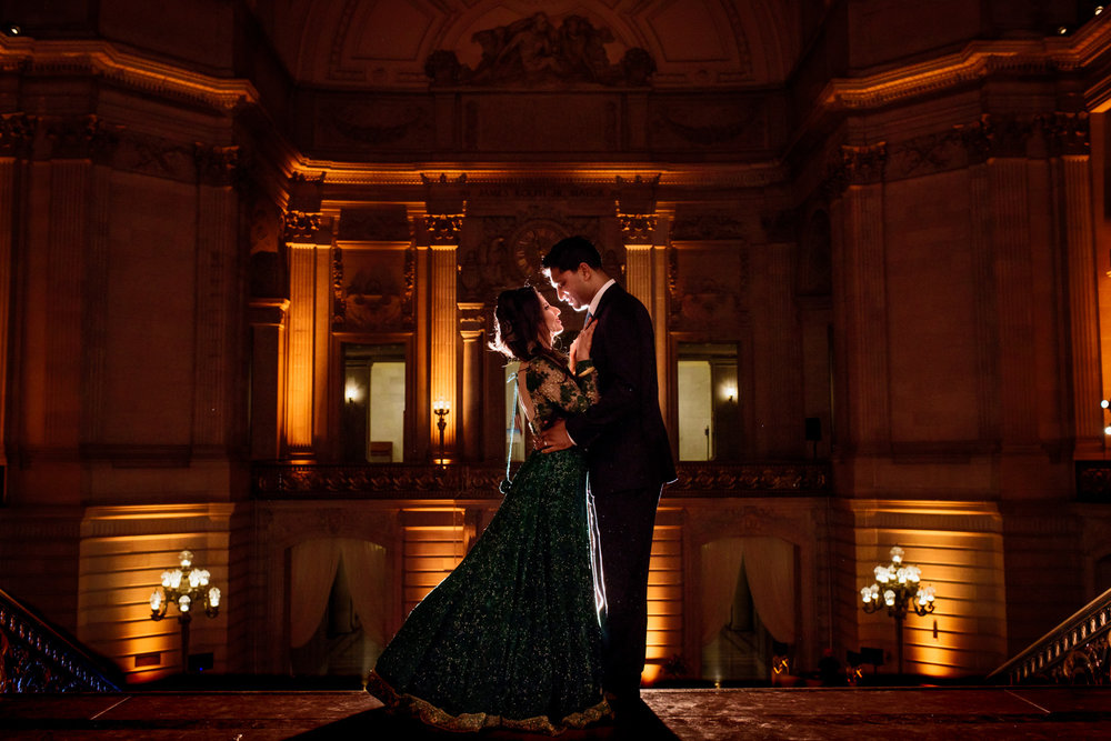 Indian wedding at San Francisco City Hall