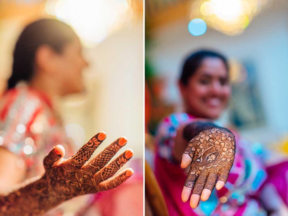 Bay area Mehndi ceremony
