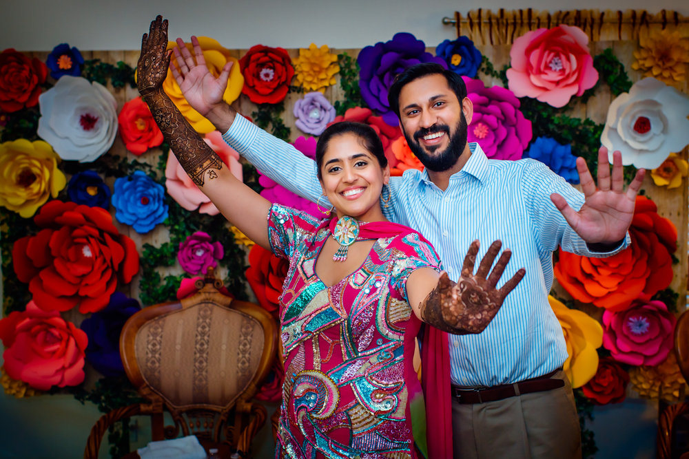 Bay area Punjabi Mehndi ceremony