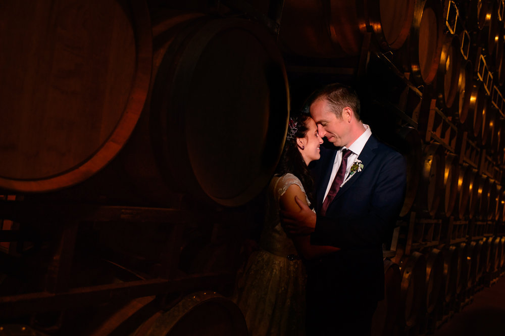 De Loach vineyards Santa Rosa Winery wedding