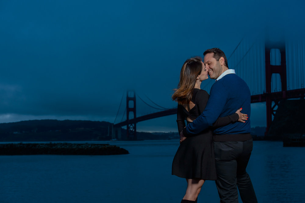 San Francisco Engagement shoot