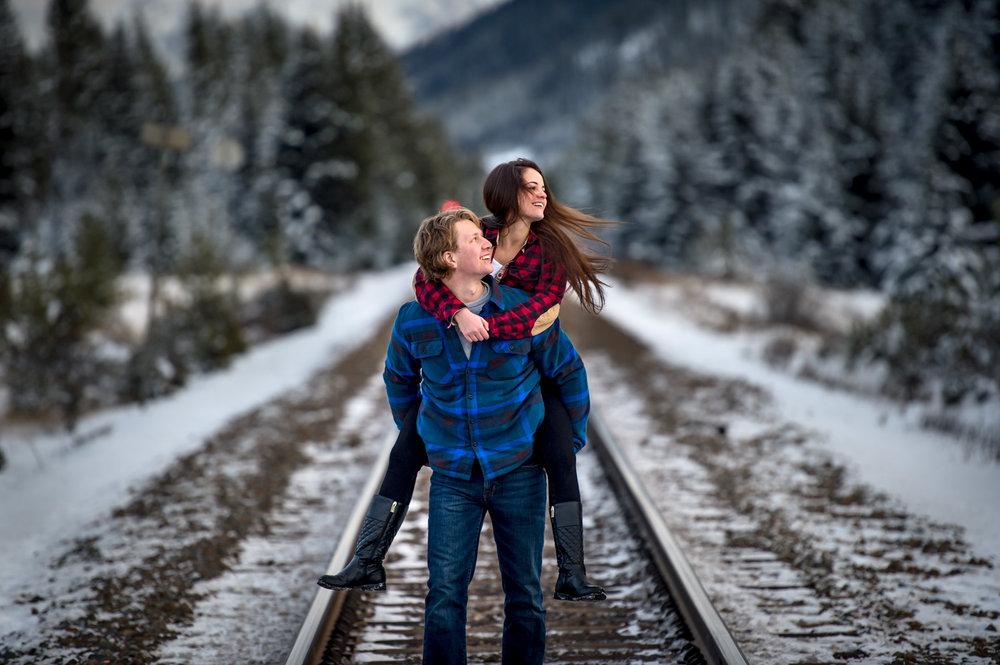 Couple Shoot Banff