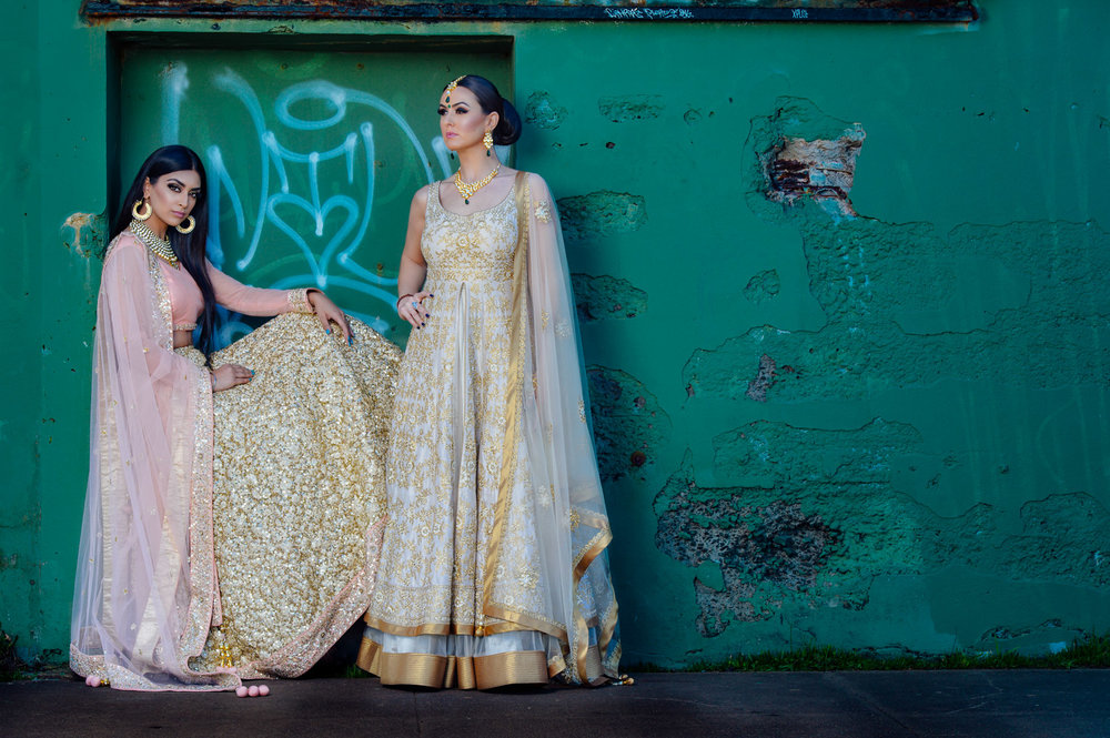 Styled Indian Bridal shoot for Wellgroomed Inc