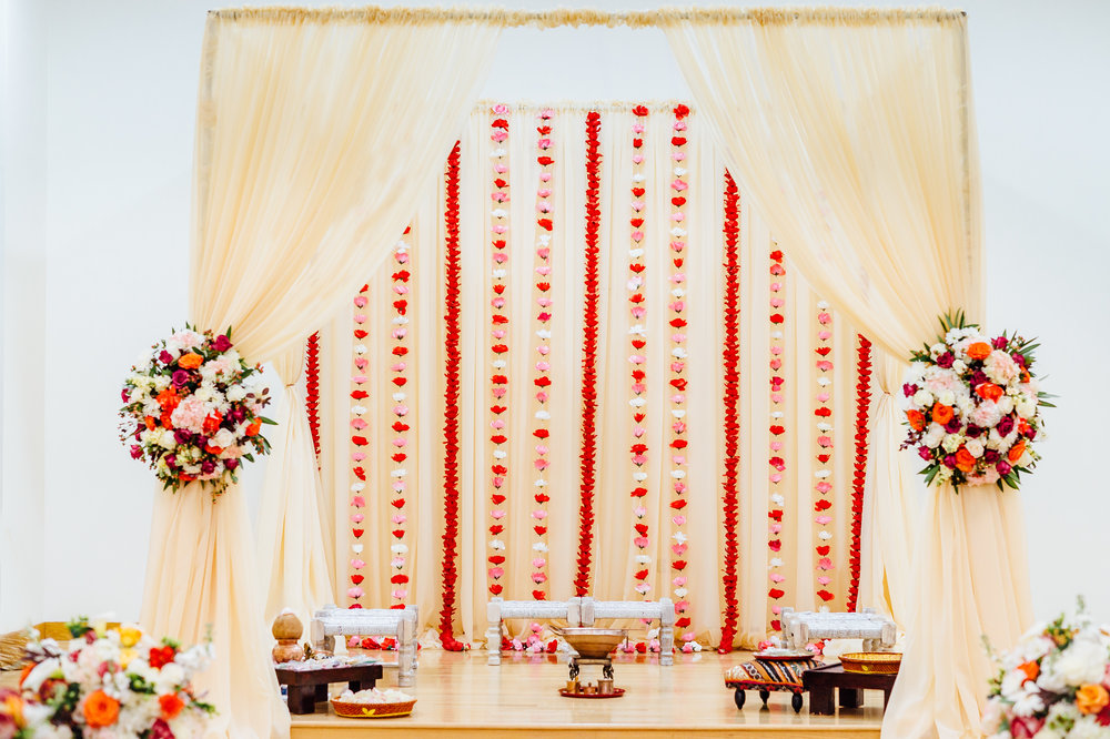 Mandap decor by Anais Events