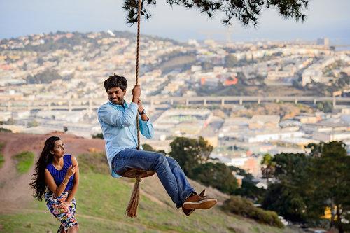 ADITI & MANJUNATH - A FUN COUPLE SHOOT IN THE CITY