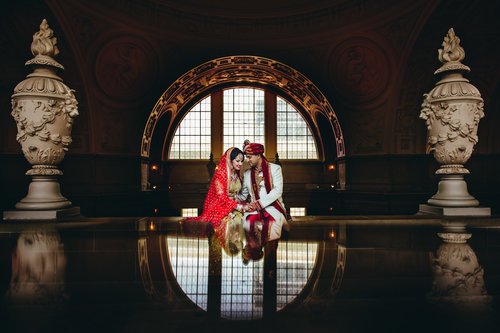 JYOTI & PRAVEEN - A BEAUTIFUL INDIAN WEDDING AT CITY HALL SAN FRANCISCO