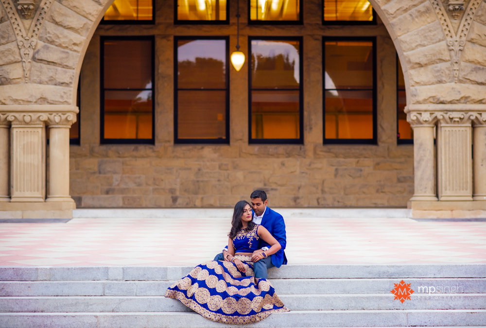 Indian Engagement Photo Stanford University