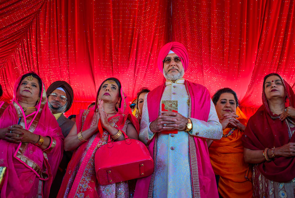 Indian Sikh wedding Stockton