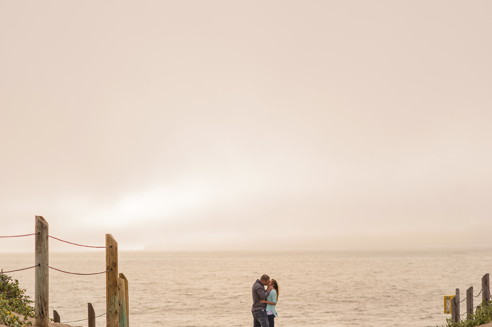Crystina (Kaylene) + Nick - Award-winning engagement shoot at Battery Mendell and Baker's Beach San Francisco