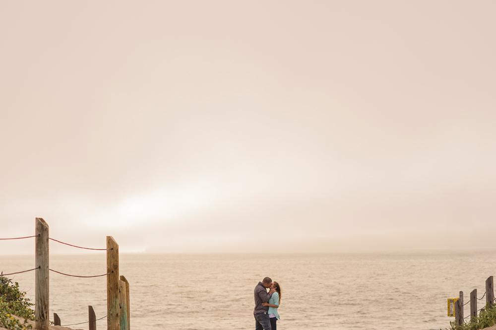 Crystina (Kaylene) + Nick - Award-winning engagement shoot at Battery Mendell and Baker's Beach San Francisco