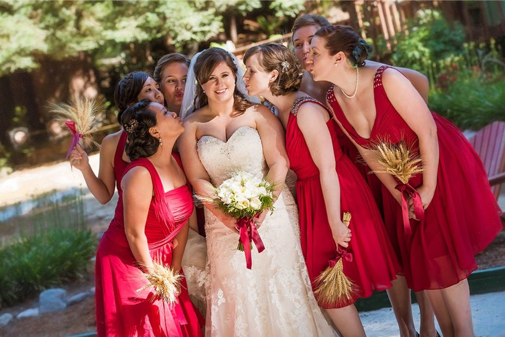 Jim & Erin's Wedding at Hazlwood Los Gatos -