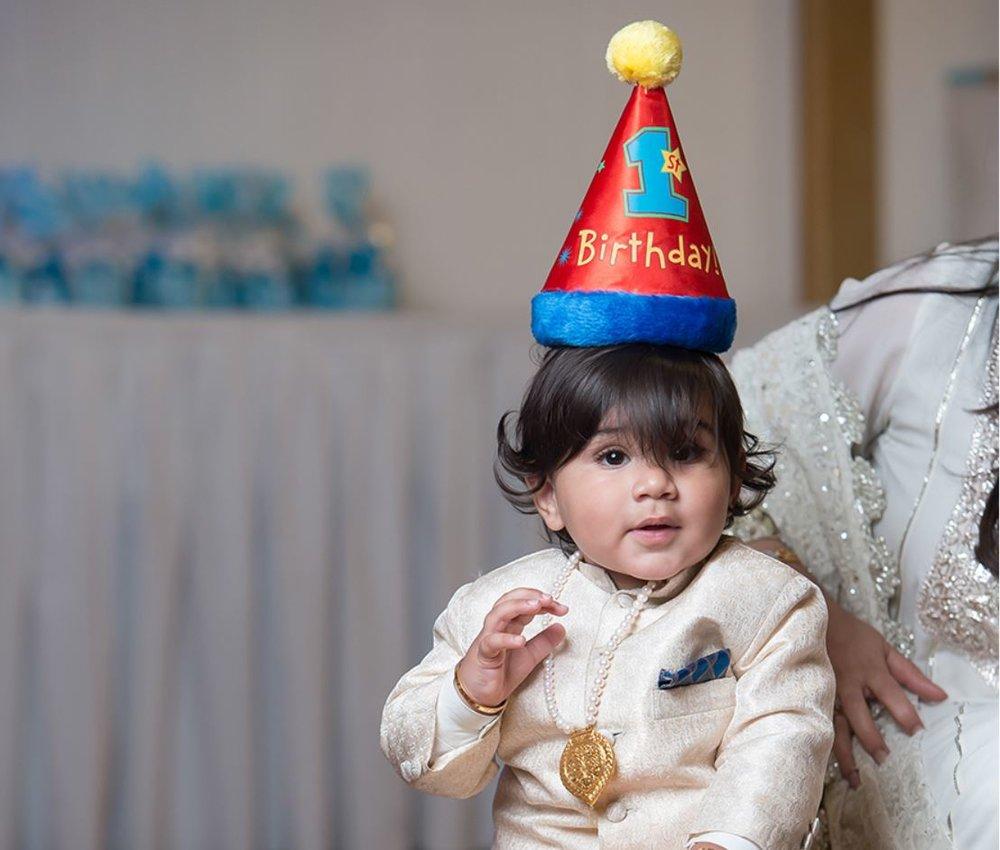 Agastya First Birthday -