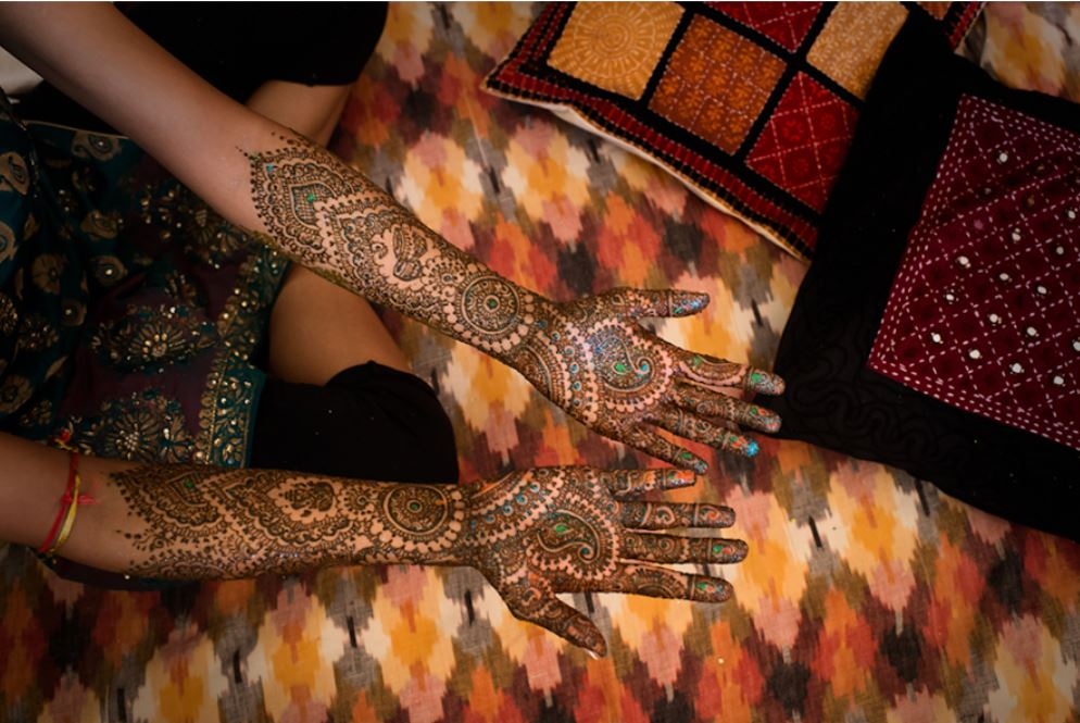 Falguni's Mehandi (Indian Henna Ceremony) -