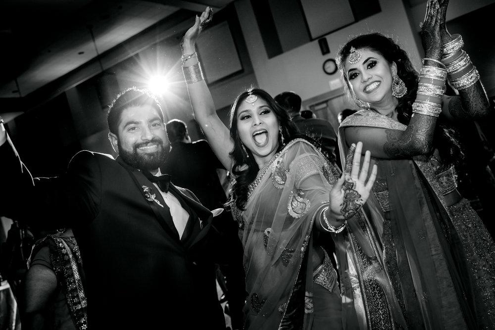DJ Dance Floor Indian Wedding