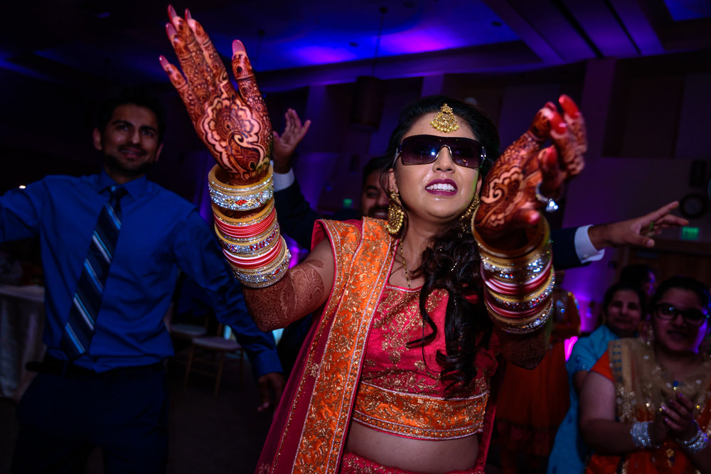 Indian bride kala chashma