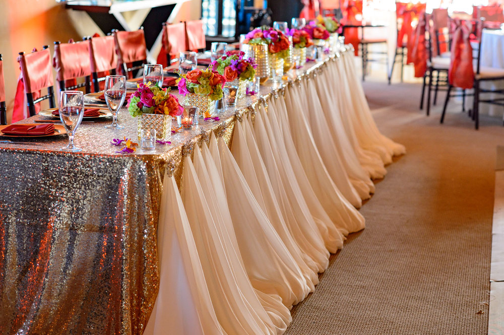 Indian Wedding Reception Decor by Avant Planners