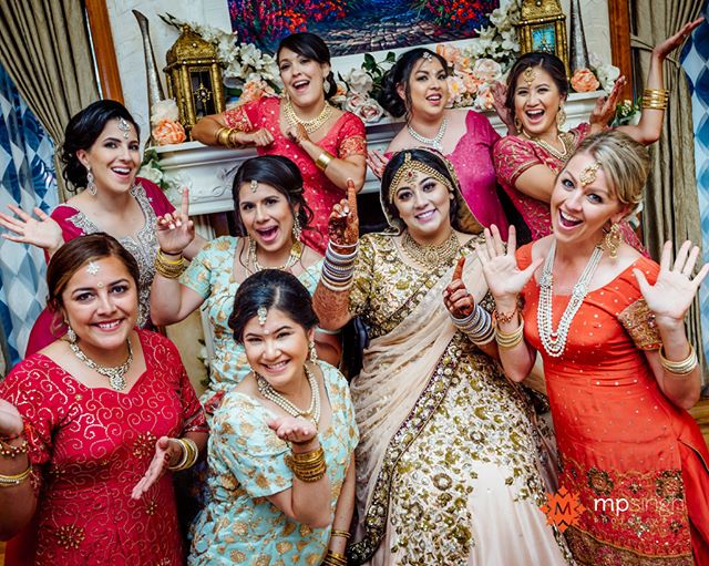 Girls just wanna have fun... this fun wedding has been featured on @thebigfatindianwedding , link in the profile.  @amrithadhatt and Adam @fitnesshalpers ,  #halpergotdhatt  #mpsinghphotography  @anaisevents @viaggio_estate @wickedentertainment @royalblushstudio @merisakhicreations @tuxedosoflodi #HappilyEverAfter #AdventureAwaits #fusionwedding #punjabiweddinglodi #viaggio #winerywedding #indianweddingphotographerlodi #maharaniweddings #southasianbride #weddingsutra #nikonusa #nikonlove #nikonnofilter #madewithmagmod