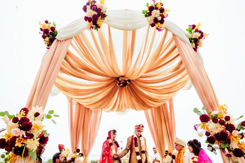 An Indian Hindu Wedding at The Ritz Carlton, Half Moon Bay | Snehal & Mukul - Snehal & Mukul