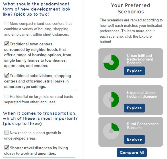 Users get instant visual understanding of plan options.