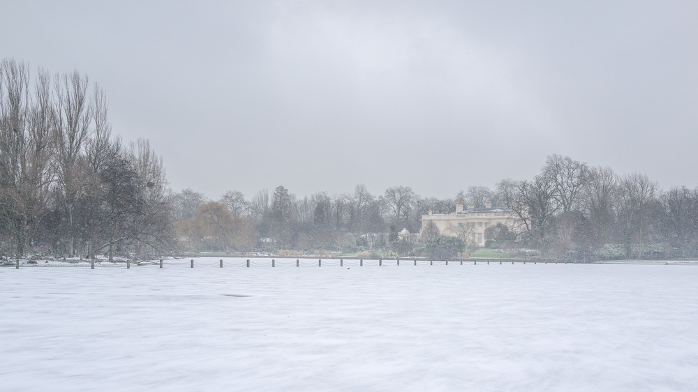 Regents Park a few days later under much different conditions