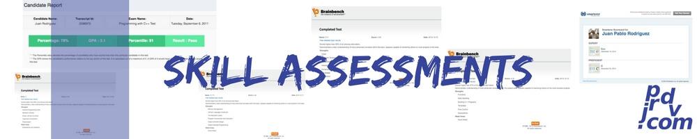 Juan Pablo Rodriguez DV Skill Assessments