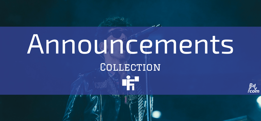 Announcements Freelanstyle Collection