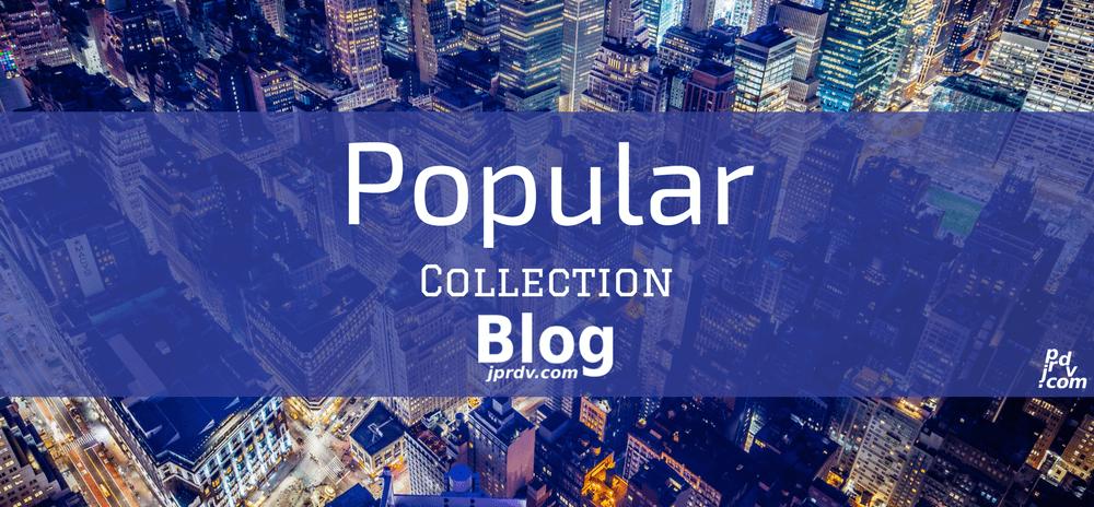 Popular jprdv.com Blog Collection