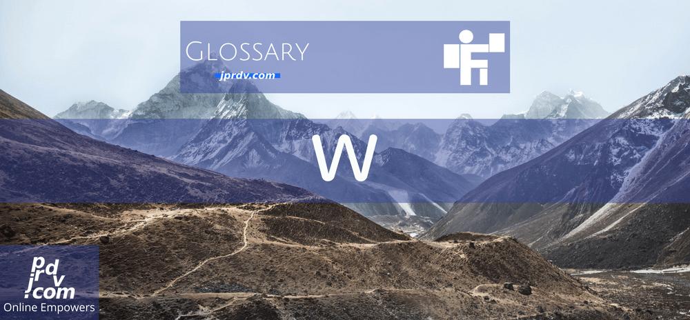 W (Freelanstyle Glossary)